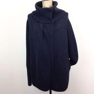 Lululemon Asymmetrical Cowl Cardigan Coat -N1182